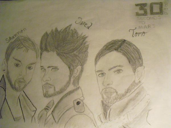30 Seconds to Mars by Annka241